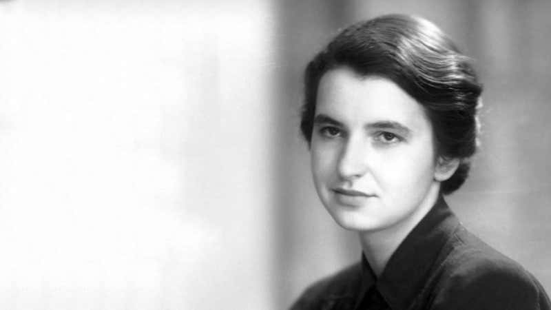 Photo of Rosalind Franklin (25 Temmuz 1920- 16 Nisan 1958)